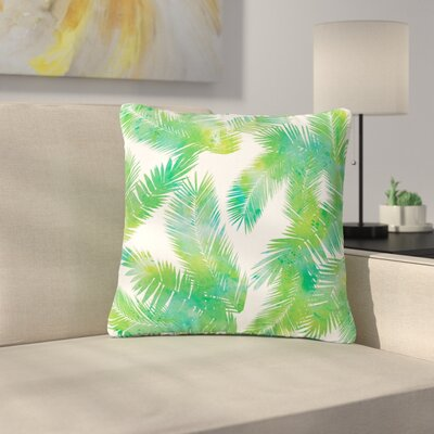 Draper Tropic Breeze Digital Outdoor Throw Pillow Size: 16 H x 16 W x 5 D, Color: Green