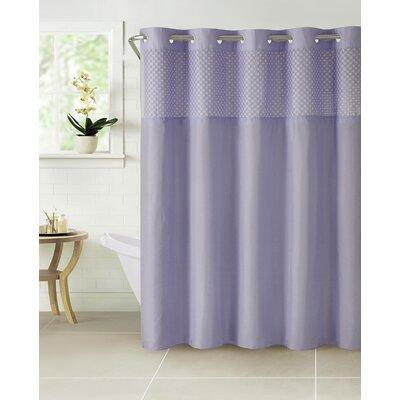 Hammann Eyelet Shower Curtain Color: Lilac