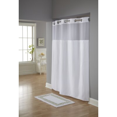 Humberwood Shower Curtain Color: White