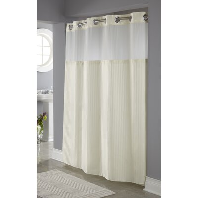 Humberwood Shower Curtain Color: Beige