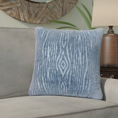 Cotulla Solid Down Filled Throw Pillow Size: 20 x 20, Color: Navy
