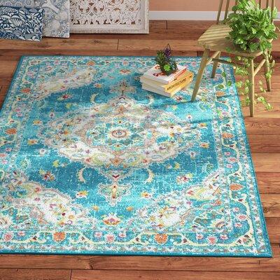 Montana Blue Area Rug Rug Size: 710 x  102