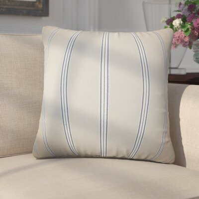 Elisabetta Stripes Cotton Throw Pillow