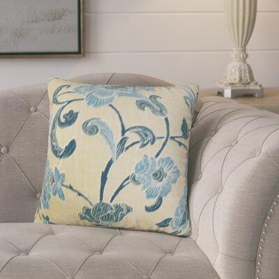Marcelino Modern Floral Cotton Throw Pillow
