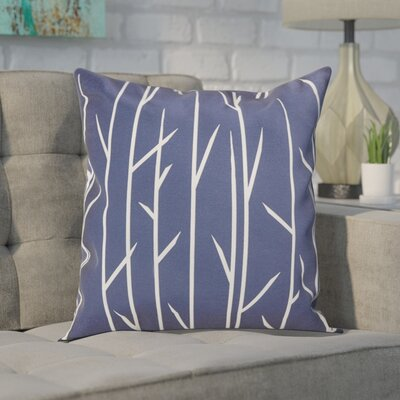 Throw Pillow Size: 20 H x 20 W, Color: Spring Navy