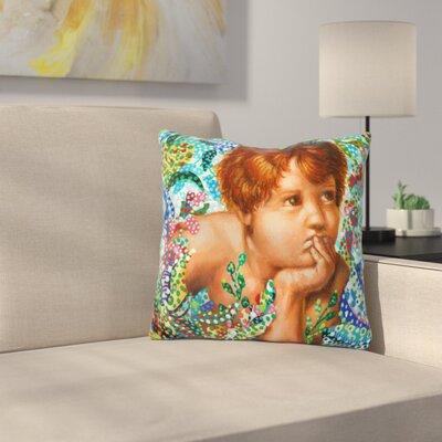 Cherub Throw Pillow