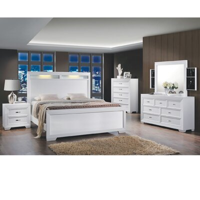 Scalf Queen Panel 5 Piece Bedroom Set