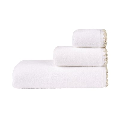 Fingertip Towel Color: White/Neutral