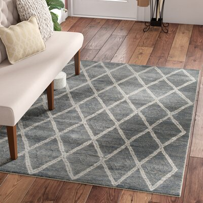 Essonnes Sterling Gray Area Rug Rug Size: 710 x 910