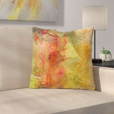 Poppyfield by Carol Schiff Throw Pillow Size: 18 H x 18 W x 3 D