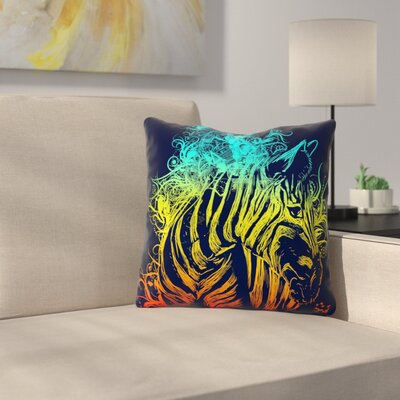 Wild Nature by Frederic Levy-Hadida Throw Pillow Size: 26 H x 26 W x 5 D