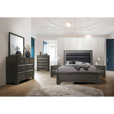Mcree Queen Panel 5 Piece Bedroom Set