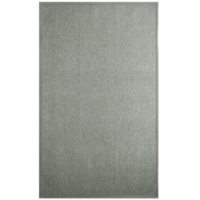 Ornelas Sisal/Silver Indoor Area Rug Rug Size: Rectangle 6 x 8