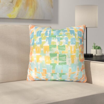 Bernardi Throw Pillow Color: Sunsplash