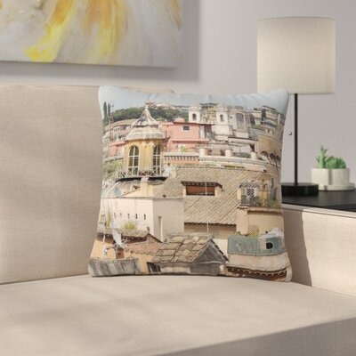 Nick Nareshni Florence Italy Hillside Photography Outdoor Throw Pillow Size: 18 H x 18 W x 5 D