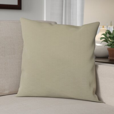 Nagda Wicker Woven Decorative Pillow Cover Color: Stone