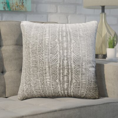 Lapp Throw Pillow Cover Color: Graystone