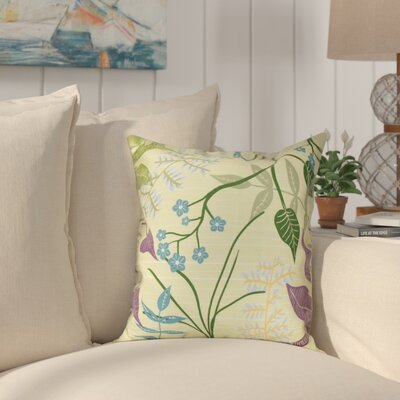 Connelly Botanical Throw Pillow Size: 20 H x 20 W, Color: Green