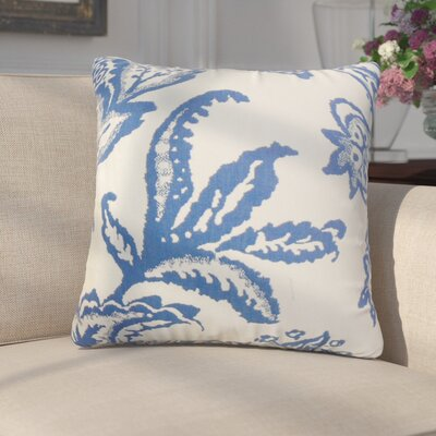 Sassa Floral Cotton Throw Pillow