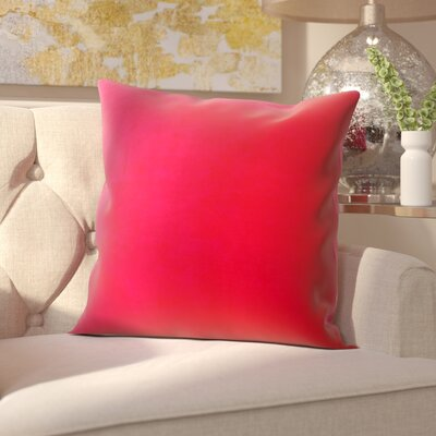 Northam Cotton Throw Pillow Color: Pink