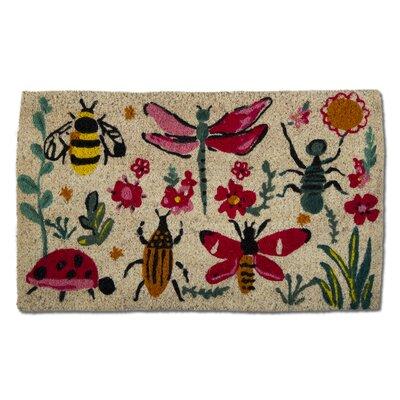 Love Bugs Coir Doormat