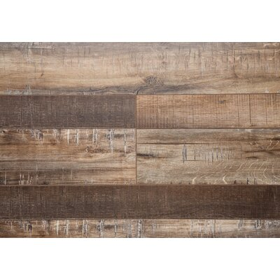 Country 7.5 x 72 x 12mm Oak Laminate Flooring in Maple