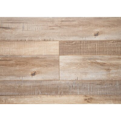 Country 7.5 x 72 x 12mm Oak Laminate Flooring in Walnut