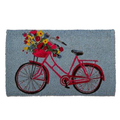 Bike Rider Coir Doormat