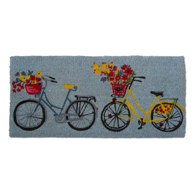 Bike Rider Estate Coir Doormat