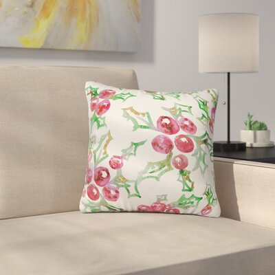 Dash and Ash All I Want For Christmas Throw Pillow Size: 16 x 16