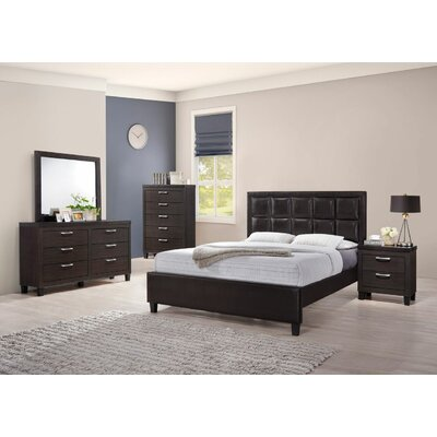 Pelfrey Queen Panel 4 Piece Bedroom Set