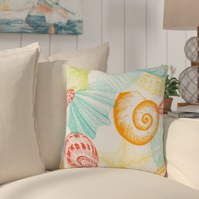 Huntington Sea Shell Outdoor Throw Pillow