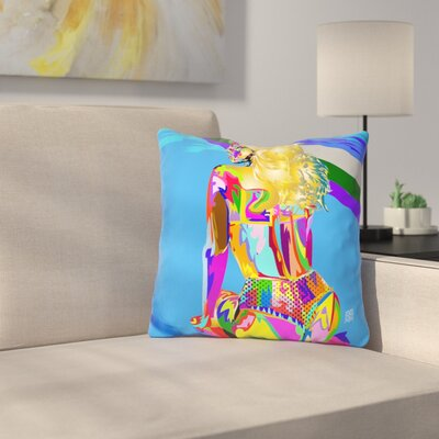 Rihanna Techno Drome Ass Throw Pillow