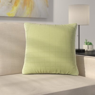 Bloomingdale Throw Pillow Color: Lime