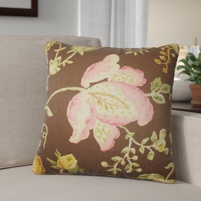 Pinch Floral Cotton Throw Pillow