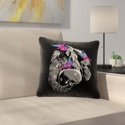 Digital Carbine  a Touch of Whimsy Fantasy Outdoor Throw Pillow Size: 18 H x 18 W x 5 D