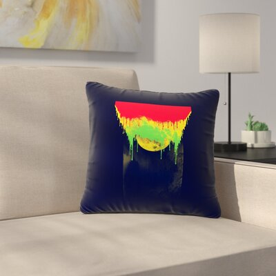 BarmalisiRTB Began Closed Outdoor Throw Pillow Size: 16 H x 16 W x 5 D