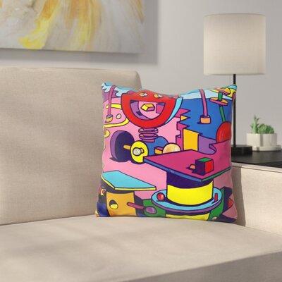 Jazz Fish Zen Throw Pillow