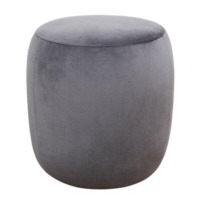 Mortenson Pouf Upholstery: Gray