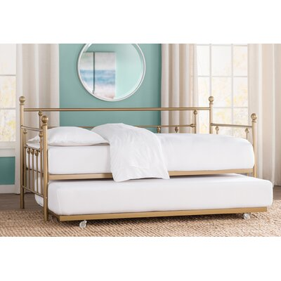 McCarthy Daybed with Trundle Finish: Gold, Size: Twin