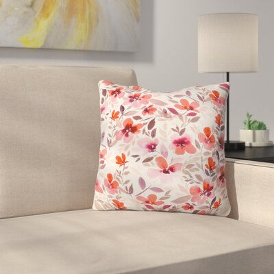 Throw Pillow Color: Blush