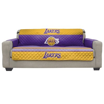 NBA Sofa Slipcover NBA Team: Los Angeles Lakers
