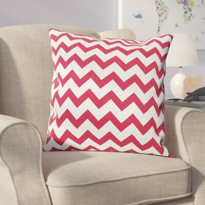 Milo Decorative Throw Pillow Size: 16 H x 16 W, Color: Red