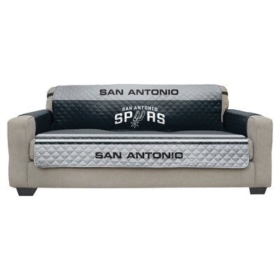 NBA Sofa Slipcover NBA Team: San Antonio Spurs