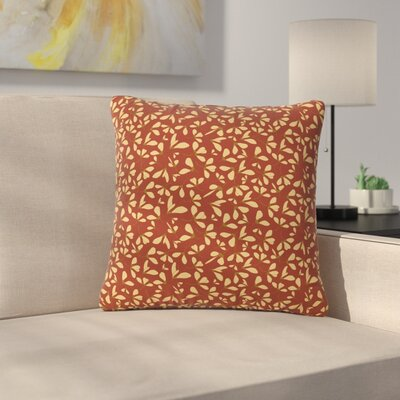 Mayacoa Studio Under the Golden Hour Floral Outdoor Throw Pillow Size: 18 H x 18 W x 5 D