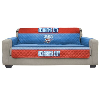 NBA Sofa Slipcover NBA Team: Oklahoma City Thunder