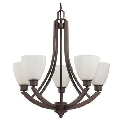 Baldry 5-Light Candle-Style Chandelier