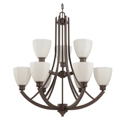 Baldry 9-Light Candle-Style Chandelier
