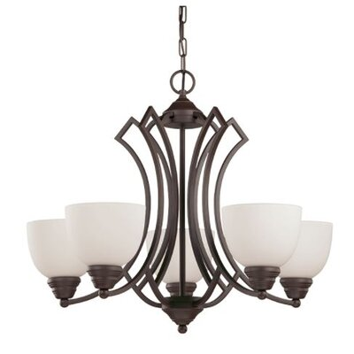 Woodmansee 5-Light Candle-Style Chandelier