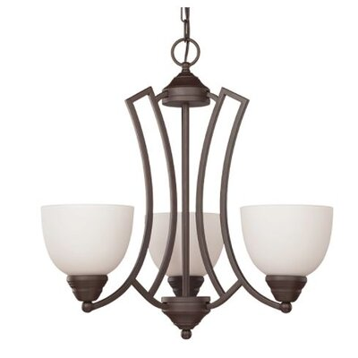 Woodmansee 3-Light Mini Chandelier